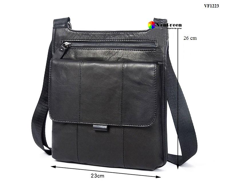 Túi da Nam đeo hông VF1223 cao cấp