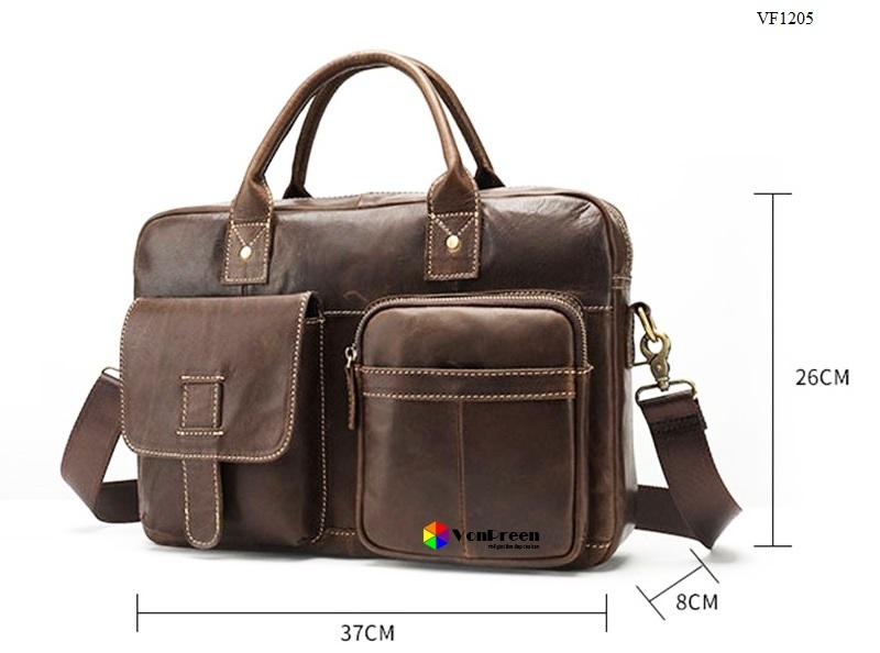 Túi xách văn phòng da bòVF1205 cao cấp