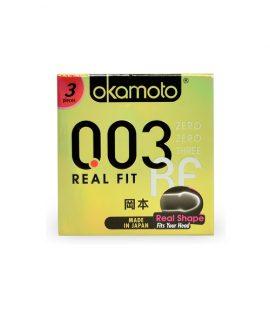 Bao cao su Okamoto Real Fit 3 chiếc