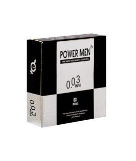 Bao cao su Power Men 0.03 Invi hộp 3