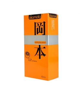 Bao cao su Okamoto Orange 10 caí