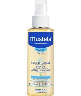 Dầu Massage Mustela Baby Oil – 100ml