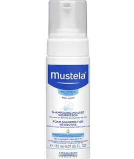 Dầu gội Mustela Foam Shampoo For Newborns – 150ml