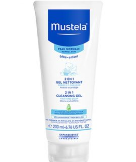 Gel tắm gội Mustela 2 in 1 Cleansing Gel – 200ml