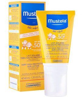 Kem chống nắng Mustela cho bé – 40ml