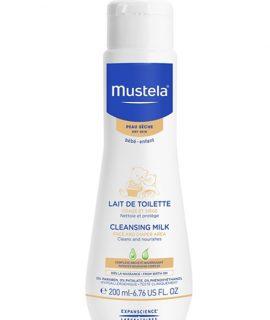 Kem dưỡng da Mustela Cleansing Milk – 200ml