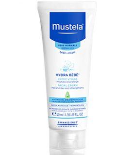 Kem dưỡng da mặt Mustela Hydra Bebe Facial Cream – 40ml