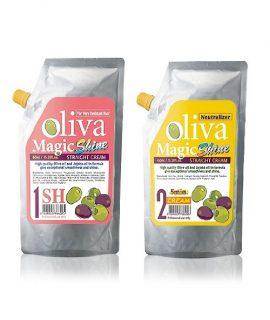 Kem duỗi Livegain Premium Rich Oliva Magic Shine SH 450ml + 450ml