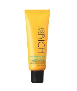Màu dưỡng phủ bóng Livegain Premium Rich Hair Manicure – 240ml