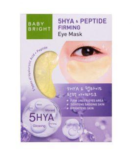 Mặt nạ săn chắc da mắt Baby Bright 5hya & Peptide Firming Eye Mask - 1 cặp