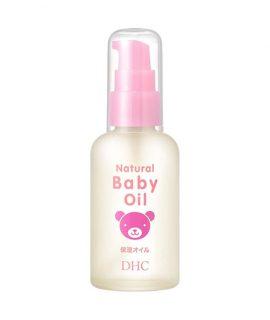 Dầu dưỡng da trẻ em DHC Natural Baby Oil - 60ml