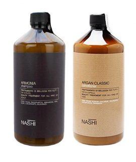 Cặp gội xả trị gàu cho tóc dầu Nashi Armonia - 1000ml
