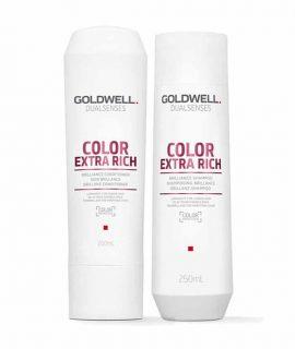 Dầu gội xả siêu dưỡng Goldwell Dualsenses Color Extra Rich Brilliance - 250ml