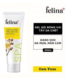Gel tẩy tế bào chết Felina Exfoliating Peeling Gel – 300ml, chính hãng